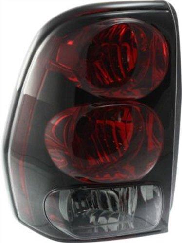 Crash Parts Plus Left Driver Side Tail Light Tail Lamp for 2002-2009 Chevrolet ()