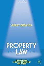 Great Debates in Property Law (Palgrave Macmillan Great Debates in Law)