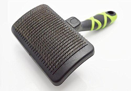 HelloPet USA - Large Self-Cleaning Slicker Brush