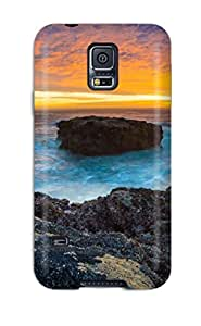 Tpu Case Cover For Galaxy S5 Strong Protect Case - K Design
