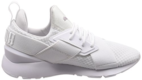 White strap Muse X Sneaker Puma Ep Bianco Donna zafw1