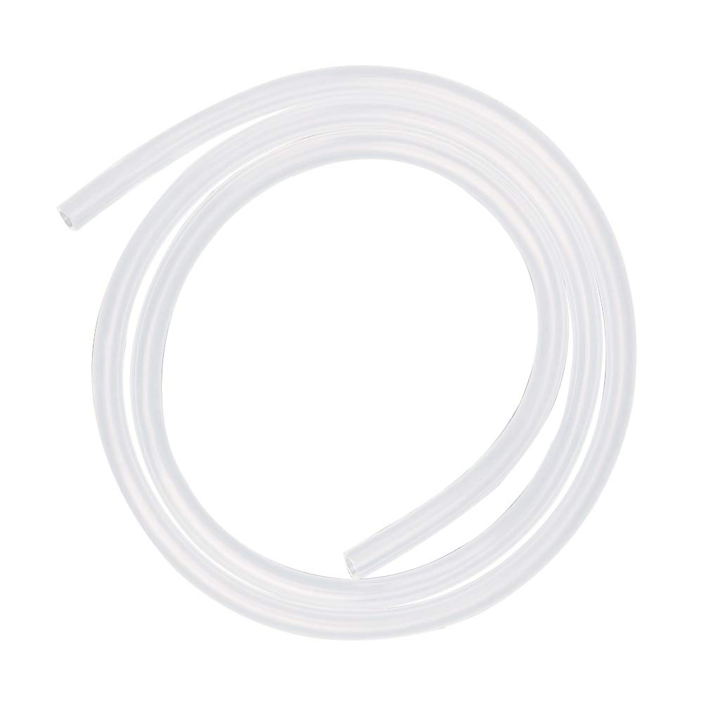 Hooshing Silicone Tubing 7mm ID x 10mm OD 20 Ft Food Grade Flexible Pure Silicone Rubber Tubing Hose High Temp for Water Pipe Home Brewing Winemaking Pump Transfer