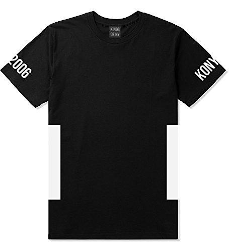 Kings Of NY Side Box Hood Block 2006 Logo New York Boys T-Shirt X-Large Black