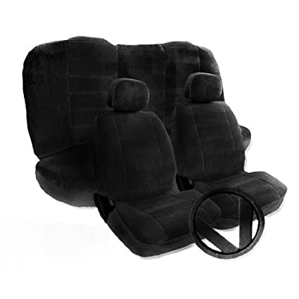 Amazon.com: Toyota Camry Black Seat covers - 2 Front Low ...