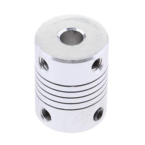 non-brand MagiDeal Acoplamientos Flexibles de 6 mm A 8 mm Eje para Impresora NEMA 17 RepRap 3D O Máquina CNC