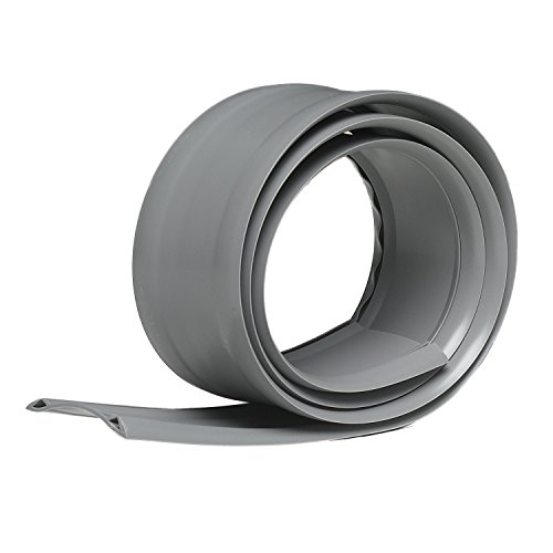 Vinyl Replacement - Frost King RV/36H Replacement Vinyl Insert for Aluminum Threshold, Grey, 1-7/8