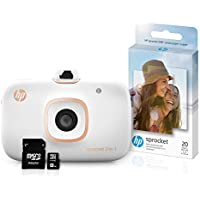 HP Sprocket 2-in-1 Portable Photo Printer & Instant...