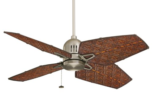 Emerson Ceiling Fans CF3600AP Camden, Indoor Outdoor Ceiling Fan, 52-Inch or 44-Inch Blade Span, Antique Pewter Finish ()
