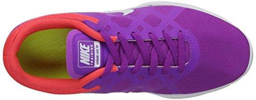 Nike Wmns Lunar Lux Tr, Zapatillas de Gimnasia para Mujer Multicolor (Violet/Fushia/Orange)