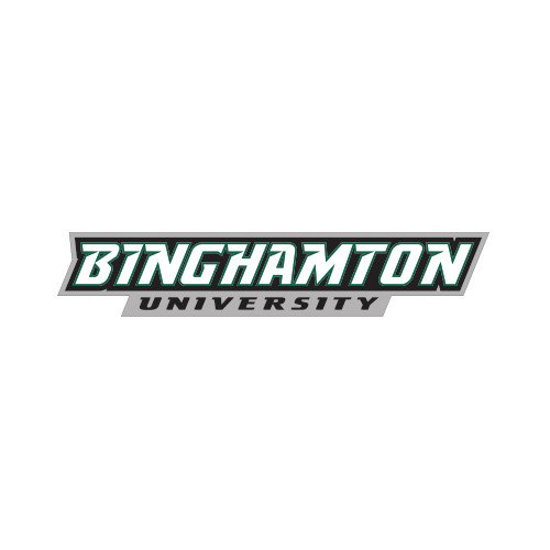 CollegeFanGear Binghamton Small Decal 'Binghamton University Flat'