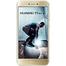 Huawei P8 Lite (2017) Dual-SIM 16GB Factory Unlocked 4G/LTE Smartphone (Gold) - International Version