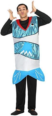 Atosa-30701 Disfraz hombre pez, color azul, M-L (30701): Amazon.es ...