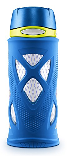 Pvc Water Bottles (Zulu Shorty Tritan Plastic Water Bottle, Blue, Standard)