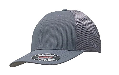 Flexfit 3-Pack Premium Original Ultrafibre Mesh Fitted Cap XX-Large Gray