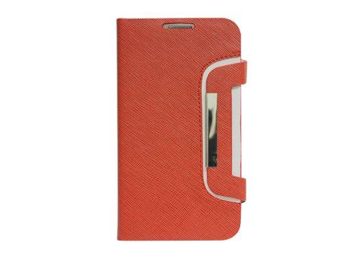 Cellet Leather Flip Case for Samsung Note 2 - Red