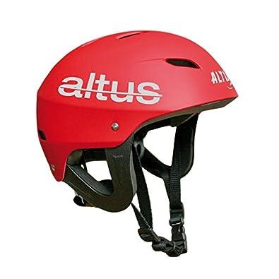 Altus Saturno - Casco Water, Unisex, Color Rojo, Talla única: Amazon.es: Zapatos y complementos
