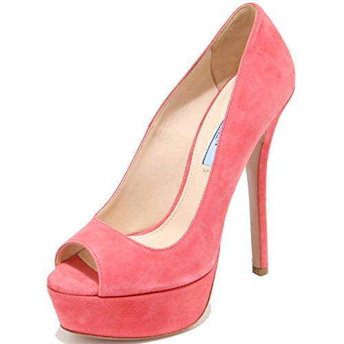 Shoes Decollete 8303I Fuschia spuntata Donna Women Prada Scarpe 57XqCxw5