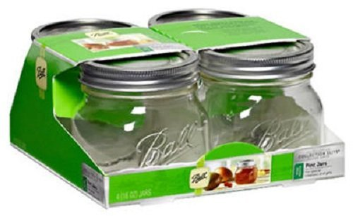 Ball Collection Wide Mouth 16Oz Pint Jars