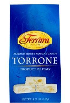Ferrara Almond Honey Nougat Torrone 4.23 Oz - Pack of 4