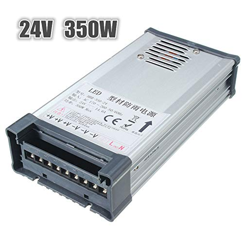 - IP65 170V-264V To 24V 350W Switching Power Supply Driver Adapter - CCTV Security Accessories CCTV Power Supply Switch & Adaptor - 1 x IP65 Switching Power Supply