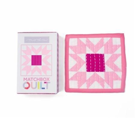 No 9~Violet Matchbox Quilt Kit by Moda Fabrics (First Quilt Kit)