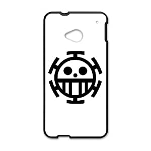 HTC One M7 Cell Phone Case Black ONE PIECE OYJ Unique Phone Case Clear