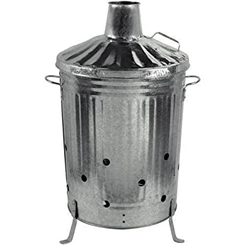 Picturesque  Litre Metal Galvanised Incinerator Garden Fire Bin Dustibin  With Marvelous  Litre Metal Galvanised Incinerator Garden Fire Bin Dustibin Leaves Wood  Paper Rubbish With Awesome Fosters Garden Centre Opening Times Also Garden Centres Stockport In Addition Homebase Garden Tools And Garden Border Edging Ideas As Well As Garden Stickers Additionally Rowlinsons Garden Products From Amazoncouk With   Marvelous  Litre Metal Galvanised Incinerator Garden Fire Bin Dustibin  With Awesome  Litre Metal Galvanised Incinerator Garden Fire Bin Dustibin Leaves Wood  Paper Rubbish And Picturesque Fosters Garden Centre Opening Times Also Garden Centres Stockport In Addition Homebase Garden Tools From Amazoncouk