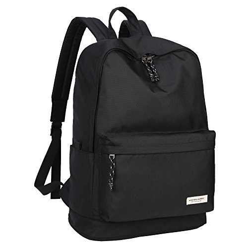 KAKA Waterproof Backpack Laptop Backpack Black Large