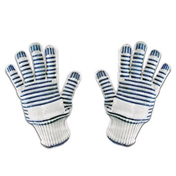 The Legendary Magic Oven Glove Hot Surface Handler (PAIR) - Cook, Adjust,...