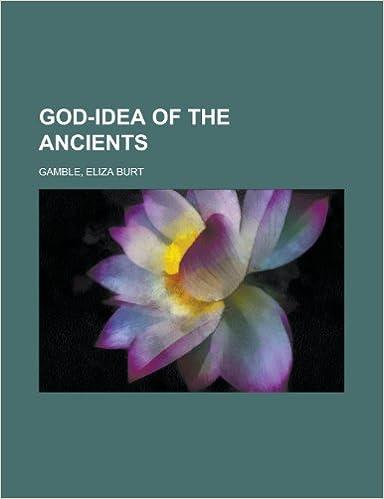 Book God-Idea of the Ancients