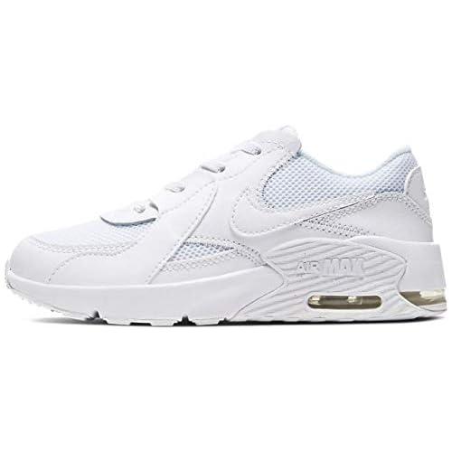 chollos oferta descuentos barato Nike Air MAX Excee PS Zapatillas Unisex Niños Blanco Negro Blanco 32 EU