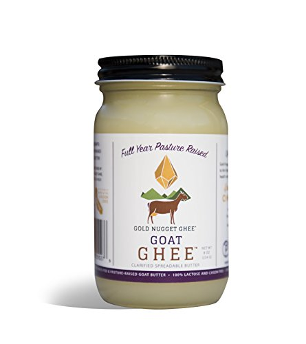 GOAT GHEE BY GOLD NUGGET GHEE, FULL YEAR PASTURE RAISED, GRASS-FED, KETO PALEO - Butter Goats