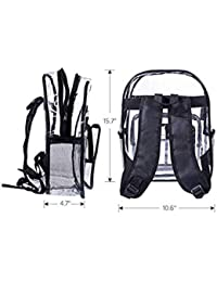 Amazon.com: Clear - Kids Backpacks / Backpacks: Clothing, Shoes & Jewelry