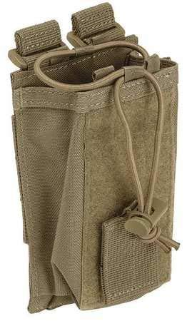 Nylon 5.11 Tactical Vest (5.11 Radio Pouch Compatible with 5.11 Bags/Packs/Duffels, Style 58718, Dark Navy)