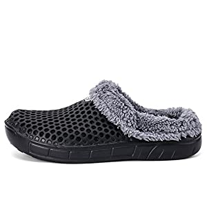 ALEADER Mens&Womens Garden Clogs Lightweigth Summer Sandals Winter Warm Slippers 2 Styles