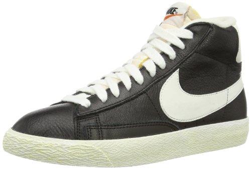 Nike Wmns Blazer Mid Lthr Vntg - Zapatillas para mujer Negro (Schwarz (Schwarz))
