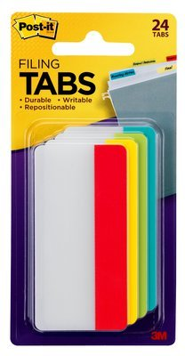 MMM686RALY - Post-it Post-it Durable Index Tabs