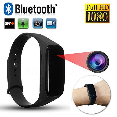 Mini,Spy Camera,Hidden Spy Camera,HD 1080P SPY Cam DVR Hidden Camera Wearable Wrist Watch Mini DV Video Recorder ()