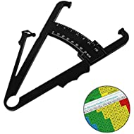 Body Fat Caliper, Fat Measure Clipper for Accurately Measuring Caliper Measuring Tool for Body Fat