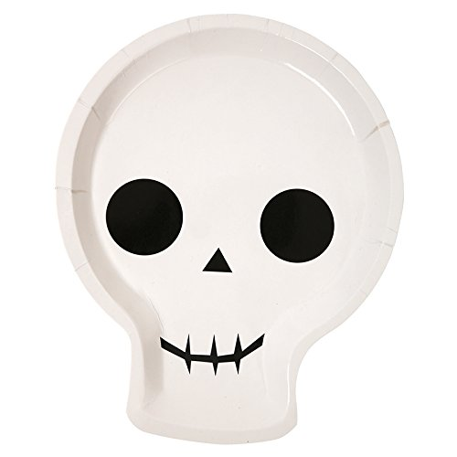 Halloween Party Supplies Halloween Decorations Ideas Paper Plates Ghost Pk 24 (Halloween Ideas)