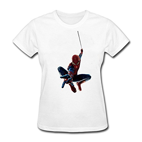 AzonLD Women's The Amazing Spider Man Short Sleeve T-shirt ()