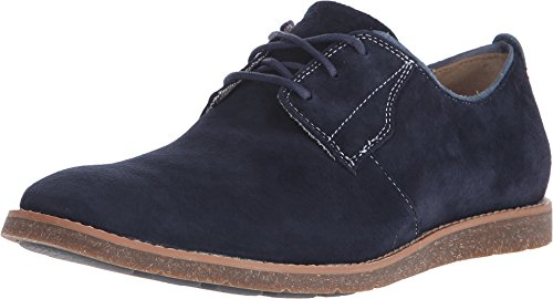 Hush Puppies Men's Hans Jester Oxford, Navy Suede, 12 M US (Jester Shoes)