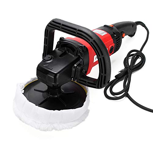 - Best Quality - Polishers - Electric 6 Variable Speed Car Polisher Buffer Waxer Sander Boat with Sponge leaning Polishing Tool - by SINAM - 1 PCs