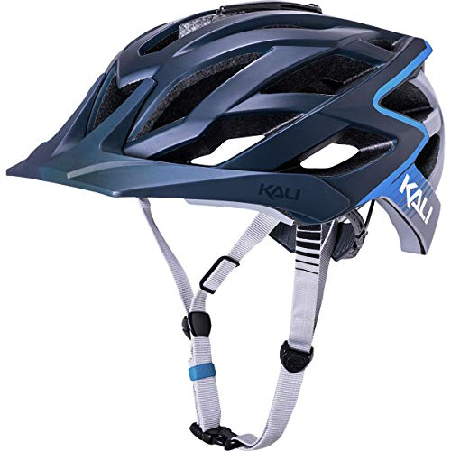 Kali Protectives Lunati Helmet Frenzy Matte Blue/Grey, L/XL