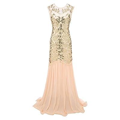 Long Formal Dress Vintage 1920s Evening Prom Flapper Dresses