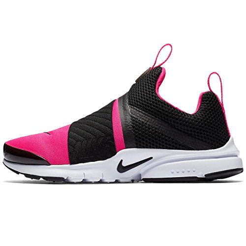 Nike Presto Extreme (GS) Big Kid's Running Shoes Black/Pink/Prime White 870022-004 (4 M US) by NIKE