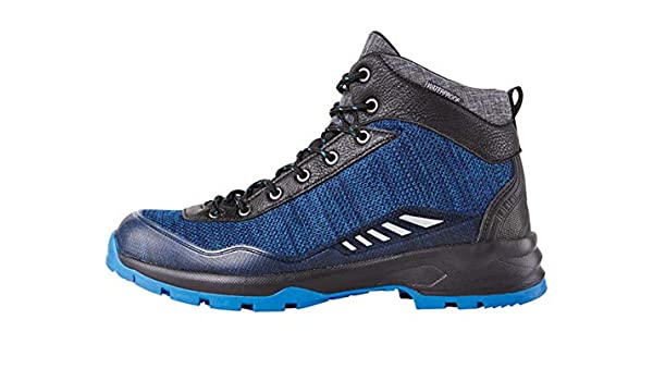 Crivit - Botas de Trekking para Mujer (Impermeables), Negro Azul, 37: Amazon.es: Deportes y aire libre