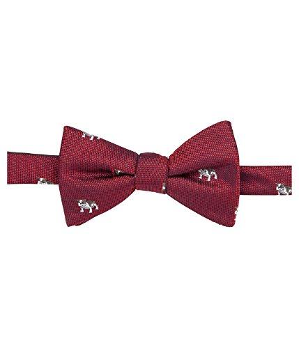 Countess Mara Men's Adjustable Bull-Dog Woven Pre-Tied Bow Tie Red Not Applicable (Countess Mara Woven Tie)