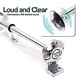 Zone Tech 12V Single Trumpet Air Horn - Premium