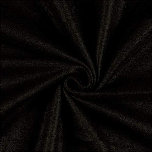 Newcastle Fabrics Polar Fleece Solid Black Fabric By The Yard